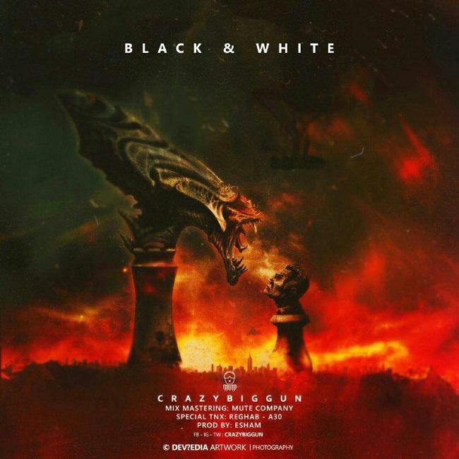 Crazy Big Gun-Black & White