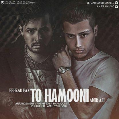 Behzad Pax & Amir A.H - To Hamooni