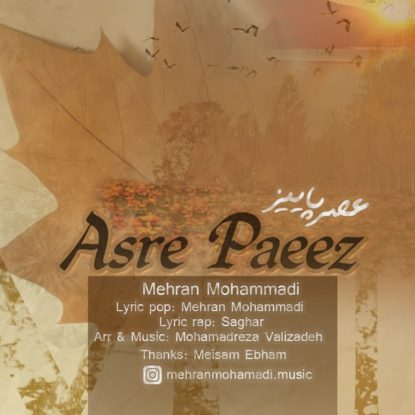 Mehran Mohammadi - Asre Paeez