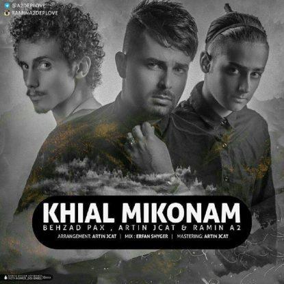 Behzad Pax - Khial Mikonam (Ft Artin Jcat Ramin A2)